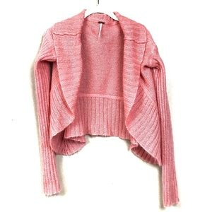 Free people mohair cropped cardigan sweater